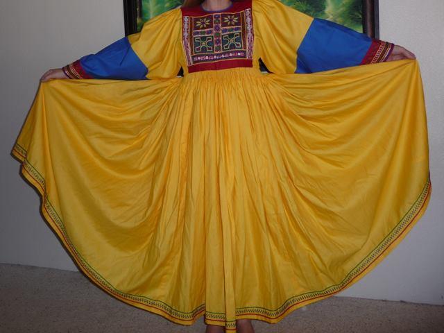 Afghan nomad dress